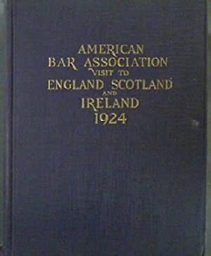 American Bar Association visit to England, Scotland and Ireland 1924: Memorial Volume: Grenville (...