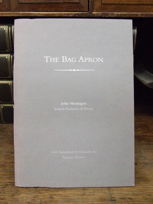 The Bag Apron: Or The Poet and His Community: John Montague