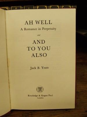 Ah Well: Jack B Yeats