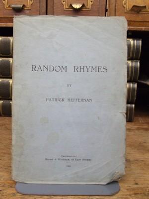 Random Rhymes: Patrick Heffernan