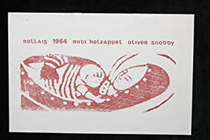 Nollaig 1964: Rudi Holzapfel and Oliver Snoddy