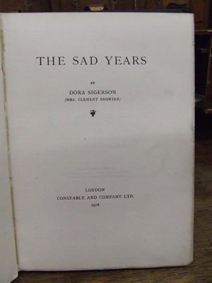 The Sad Years: Dora Sigerson