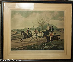 "HAND COLORED STONE LITHOGRAPH. ""GOING TO THE: Alken, Henry Thomas"