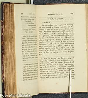 MEMOIRS OF CHARLES MACKLIN COMEDIAN, WITH THE DRAMATIC CHARACTERS, MANNERS, ANECDOTES, & C. OF ...