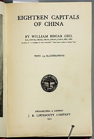 EIGHTEEN CAPITALS OF CHINA.: Gill, William Edgar