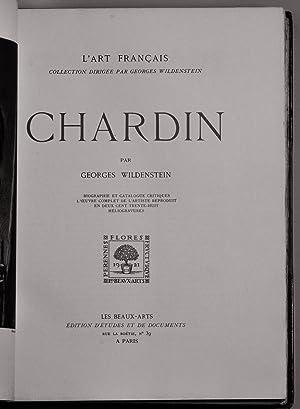 CHARDIN BIOGRAPHIE ET CATALOGUE CRITIQUES, L'OEUVRE DE L'ARTISTE REPRODUIT EN CENT ...