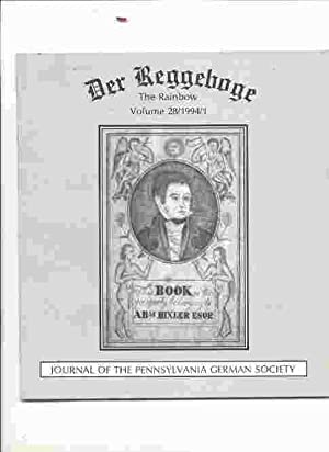 DER REGGEBOGE, THE RAINBOW, VOL. 28, 1994,: May not be