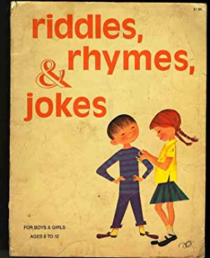 RIDDLES RHYMES & JOKES For Boys and: May not be