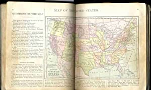 THE NEW PRIMARY GEOGRAPHY ILLUSTRATED WITH TWENTY COLORED MAPS AND EMBELLISHED WITH A HUNDRED ...