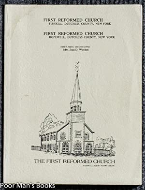 FIRST REFORMED CHURCH FISHKILL, DUTCHESS COUNTY, NEW: Worden, Mrs. Jean