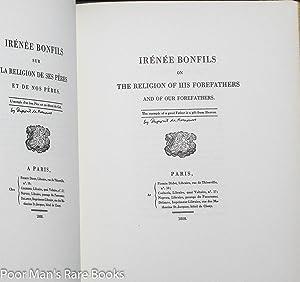 IRENEE BONFILS WRITTEN BY PIERRE SAMUEL DUPONT DE NEMOURS AND PUBLISHED IN PARIS 1808. TRANSLATED ...