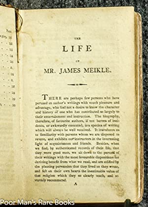 THE TRAVELLER; OR, MEDITATIONS ON VARIOUS SUBJECTS WRITTEN ON BOARD A MAN OF WAR - LIFE AND TRAVELS...