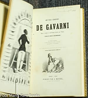 Oeuvres Choisies De Gavarni [4 In 2 Vols]: Paul Gavarni