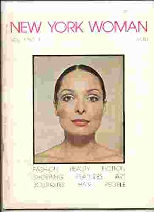 NEW YORK WOMAN Vol 1 No. 1: Adrienne Deross (Ed)