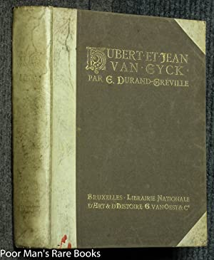 Hubert Et Jean Van Eyck,: Durand - Greville,