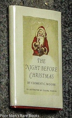 The Night Before Christmas [signed By Tudor]: Tasha Tudor: Clement