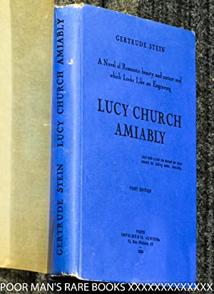 Lucy Church Amiably: A Novel Of Romantic Beauty And Nature And Which Looks Like An Engraving [...