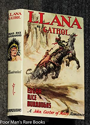 Llana Of Gathol [ Dj, Fine]: Burroughs, Edgar Rice.
