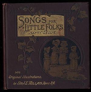 LESLIE'S SONGS FOR LITTLE FOLKS: Henry Leslie