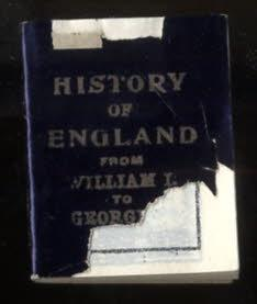 MINIATURE HISTORY OF ENGLAND [MINIATURE BOOK]: Unknown