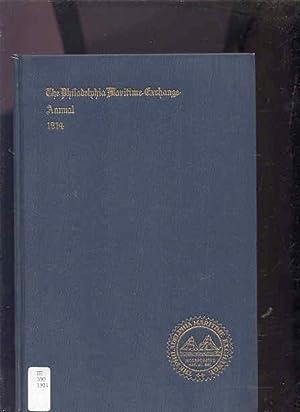 ANNUAL REPORT OF THE BOARD OF DIRECTORS OF THE PHILADELPHIA MARITIME EXCHANGE The Philadelphia ...
