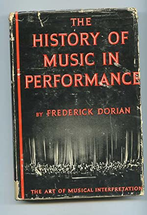 THE HISTORY OF MUSIC IN PERFORMANCE: Dorian, Frederick