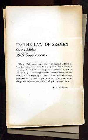 THE LAW OF SEAMEN. CUMULATIVE SUPPLEMENT 7: Norris, Martin J.