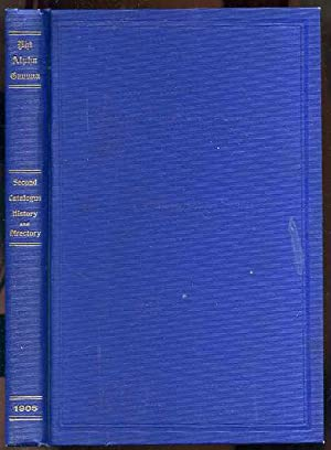 THE SECOND CATALOGUE, HISTORY AND DIRECTORY OF: Fitz-Patrick, Gilbert,
