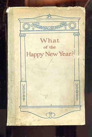 WHAT OF THE HAPPY NEW YEAR?: Joy, Jane Ellis