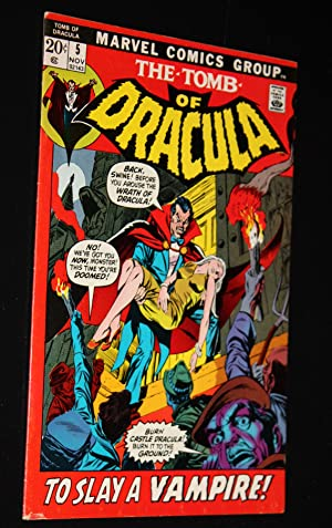 TOMB OF DRACULA APRIL 1972 ON NOS 2, 3 , 4, 5 4 Comic Books: Mary Wolfman, Gerry Conway, Archie ...