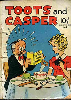 TOOTS AND CASPER NUMBER 5 1942 LARGE FEATURE COMIC Comics, Comic: May not be noted.