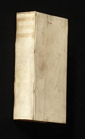 PETRONII ARBITRI SATYRICON.: Gaius Petronus] Petronius