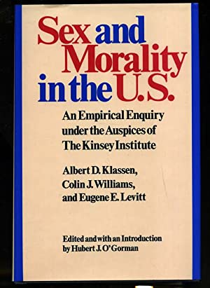 SEX AND MORALITY IN THE U.S. AN: Klassen, Albert D.
