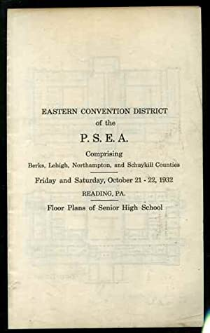 FLOOR PLANS FOR READING PENNSYLVANIA SENIOR HIGH SCHOOL 1932: May not be noted.
