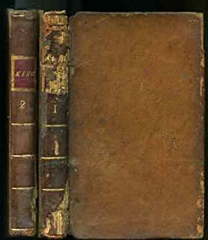 THE POETICAL WORKS OF WILLIAM KING WITH THE LIFE OF THE AUTHOR Complete in Two Volumes: William King