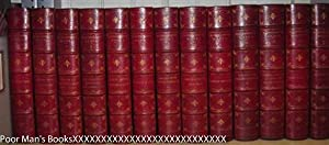 COMPLETE WORKS OF NATHANIEL HAWTHORNE [SCARLET MOROCCO: Hawthorne, Nathaniel.