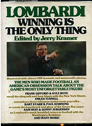 WINNING IS THE ONLY THING (Revised Edition): Lombardi, Vince; edited