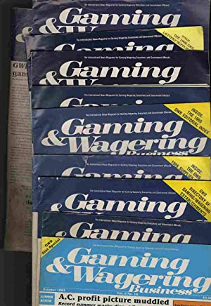 GAMING AND WAGERING BUSINESS; THE INTERNATIONAL NEWS MAGAZINE FOR GAMING WAGERING EXECUTIVES AND ...