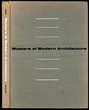 MASTERS OF MODERN ARCHITECTURE.: Peter, John