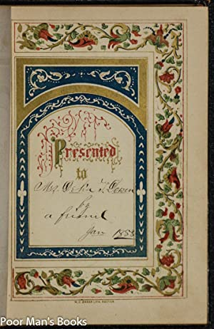 THE KEEPSAKE OF FRIENDSHIP: A CHRISTMAS AND NEW YEAR'S ANNUAL 1853: S Munroe