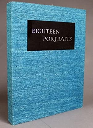 EIGHTEEN PORTRAITS. ORIGINAL LITHOGRAPHS BY MAURICE GROSSER: Thomson, Virgil