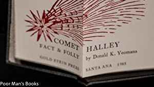 COMET HALLEY FACT AND FOLLY [MINIATURE BOOK]: Yeomans Donald K