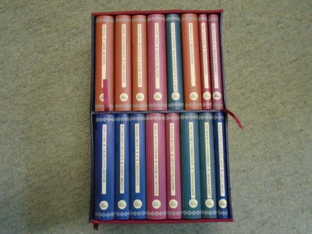 16 volume boxed set in the Collector's: Jane Austen, Charles