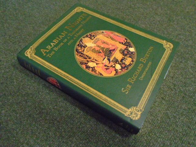 Arabian Nights , The Book of a Thousand Nights and a Night - Burton, Sir Richard (Translator) Illustrated by William Harvey and the Brothers Dalziel