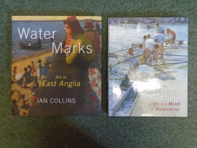 Water Marks: Art in East Anglia; Light and Mood in Watercolour [2 volumes] - Collins, Ian; Curtis, David