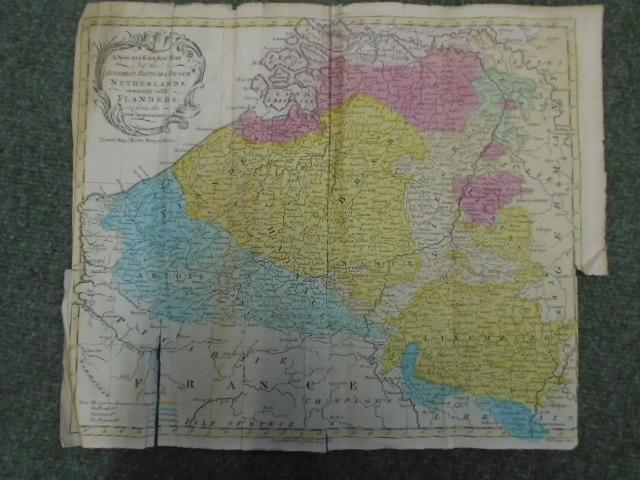 A New and Compleat Map of the: The Universal Magazine