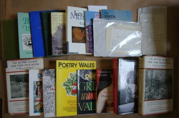 An Archive Of Books And Ephemera Including Two Poems In Manuscript, [unpublished ?], By Or Relating To The Welsh Poet R S Thomas Thomas, R. S. Very G