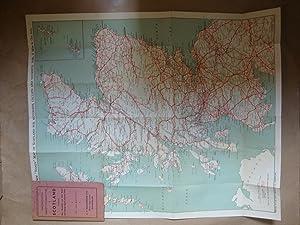 MacPherson's Handy Touring Map Of Scotland: MacPherson, H T