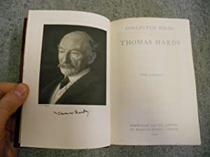 Collected Poems Of Thomas Hardy, With A Portrait