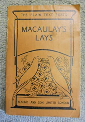 Lays of Ancient Rome with Ivry, the: Macaulay, Lord and